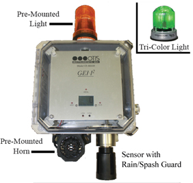 Otis Instruments OI-6000K Fixed Gas Detection Systems Link